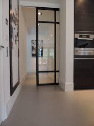 glass pocket doors stalen schuifdeuren polyurethaan gietvloer we kunnen een sleuf