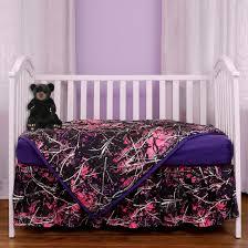 Muddy Girl Bedding Muddy Girl 3 Piece Crib Set Camo Trading