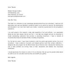 Sample Environmental Consulting Cover Letter Cover Letter For