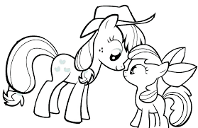 Coloring Pages Ponies Avusturyavizesiinfo