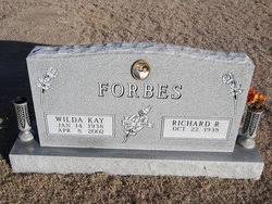 Wilda Kay Thomas Forbes (1938-2002) - Find A Grave Memorial