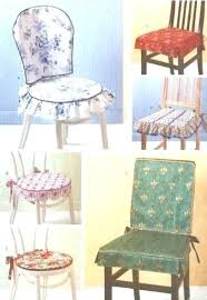 kitchen chair covers pads sewing pattern dining room chairs seat washable cushion co