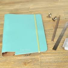 undercover recycled leather a5 diary binder