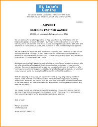 Catering Proposal Sample It Resume Cover Letter Sample