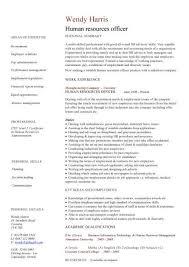 HR Advisor CV ...