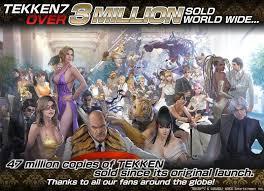 Bandai Namcos Tekken 7 Reaches Three Million Sales