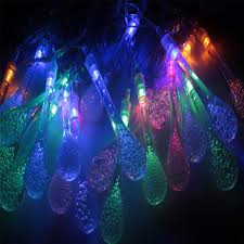 Aliexpress.com : Buy 5M 20 LED Raindrop led christmas lights ...