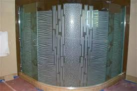 arched shower door shower abstract geometric waves circles bands round shower doors kohler