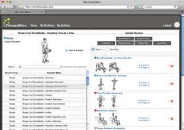 Biceps Exercise Chart Workout Routines For Barbell Exercises Barbell Exercises Com