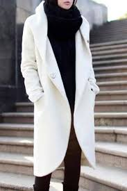 where can you for stylish white winter coats