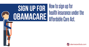 how to sign up for health insurance under the affordable care act