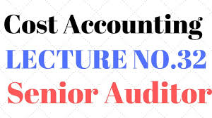 How To Prepare Break Even Chart Lecture 32 Senior Auditor Test Preparation Cost Accounting Cvp Break Even Chart Analysis