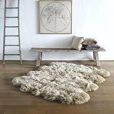 sheepskin area rug sheepskin area rug stylish awesome faux fur rugs inside regarding pertaining to 9 sheepskin area rug small faux