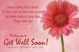 Girl Caring Bouquet Get Well Soon Rebecca Graphic | Imagefully.com ...