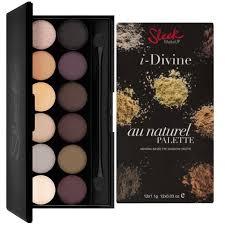 sleek makeup palette au naturel 601