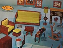 Vintage Arrow Dollhouse Furniture Kit Paperblog