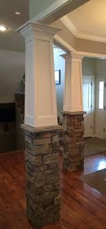 Column Molding Ideas Moulding On Columns Building A House Pinterest Ceiling Trim