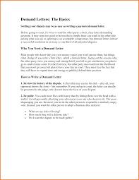 formal demand letter template