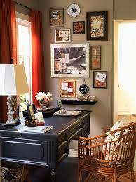 Recipe for a Vintage Home Office An Organized Home Office with