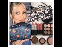 whats in my makeup bag vlog day makeup tutorial mac glam glow studio fix velvet teddy