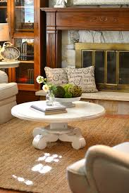 catchy decorating a round coffee table and magnificent round coffee table decor best ideas about round