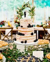 britt courtney wedding minnesota naked cake dessert table