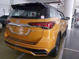 Custom Toyota Fortuner with new Nippon body kit rear quarter ...