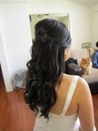 Wedding Half Up Hairstyles 70 Best Images About Wedding Hair On Pinterest Hair Down Curls