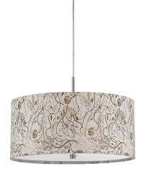full size of furniture alluring drum pendant lighting fabric shade simple fl pattern cream brown