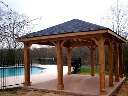 wood patio covers gorgeous wood patio cover kits with