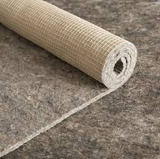 felt and rubber rug pad reinforced natural rubber backing