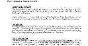 Waiter Resume Resume Online Builder