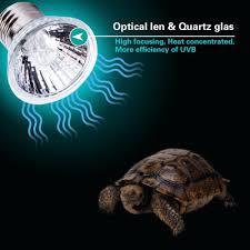 Uvb And Basking Light Uvb Light Uva Bulb Basking Spot Lamp 110v 25w Full Spectrum Turtle Aquarium Aquatic Reptile Lizard Heat Lighting Buy Uva Bulb Uva Bulb Basking Spot