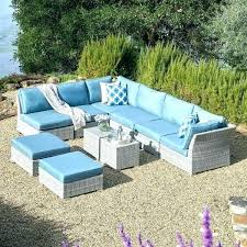 outdoor patio furniture sets clearance wicker set piece grey with outdo