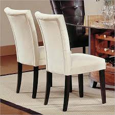set of 2 parson dining chairs. steve silver portifino parsons dining chairs - beige microfiber set of 2 are you tired your uncomfortable chairs? then get comfortable with parson