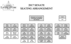 Dakota Seating Chart 2017 Senate Seating Chart Dakota Free Press