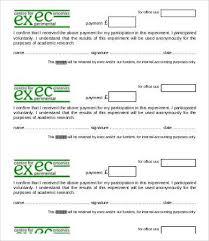 Bank Deposit Receipt Format Examplecash Receipt Template Excel