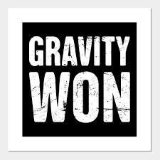 Get Well Soon Poster Gravity Funny Broken Leg Get Well Soon Gift
