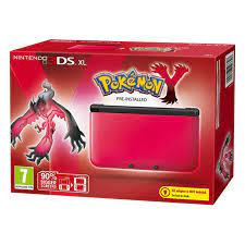 Nintendo 3DS XL Red/Black + Pokemon Y