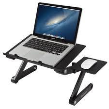readaeer portable adjule laptop computer desk stand table black