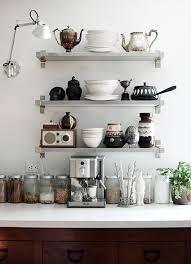 kitchen shelf. 12 kitchen shelving ideas the decorating dozen sfgirlbybay kitchen shelf