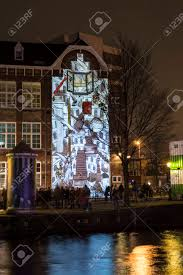 Friendship Amsterdam Light Festival Amsterdam The Netherlands December 20 2015 Animated Video