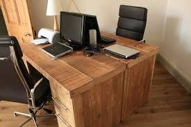 solid wood home office desks. brilliant solid reclaimed wood office desk prepossessing kids room plans free is like  set intended solid home desks
