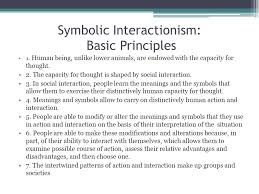 symbolic interactionism ppt video online  11 symbolic interactionism basic principles