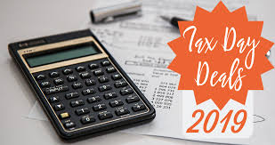 tax day is this monday 4 15 but never fret because there are lots of great tax day deals you can take advane of during this time of the year