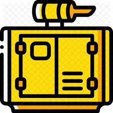 power generator icon. Fine Power Generator Power Icon With N