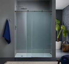 frameless shower doors home depot sliding bathtub doors half glass shower door for bathtub pivot shower
