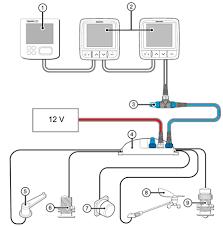 raymarine itc 5 instrument transducer converter itc 5 basic stng system raymarine