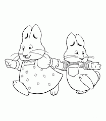 Small Picture Max And Ruby Thanksgiving Coloring Pages Cartoon Coloring pages