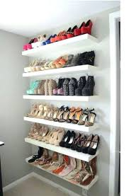 wall shoe organizer creative and unique shoe rack ideas for small spaces wall mounted shoe shelves